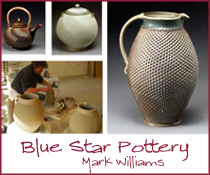 blue coast pottery