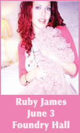 ruby james